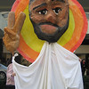 Nov. 14, 2005 - WOC Showered the Bishops with Roses and Puppets! : WOC's Ministry of Irritation organized this prayerful protest outside the U.S. bishops meeting on Nov. 14, 2005, with giant protest puppets made by WOC's Young Feminist Network, a Eucharist concelebrated by three women, and a blessing ritual of roses with postcards attached from 86 women called to ordination, symbolically from St. Therese of Lisieux.  Enjoy!