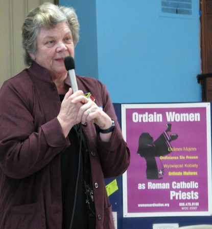 World Day of Prayer for Women's Ordination, March 25, 2006