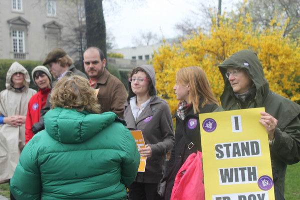 Washington, DC Vigil in Support of Fr. Roy.